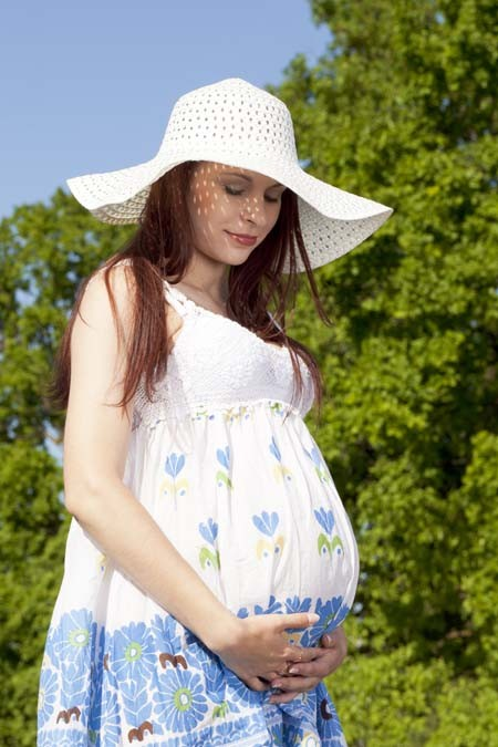 孕期乳房胀痛,乳房按摩
